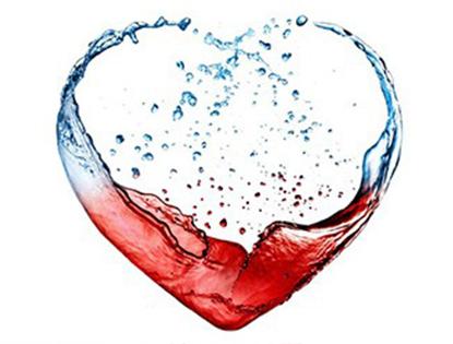 vinho e agua